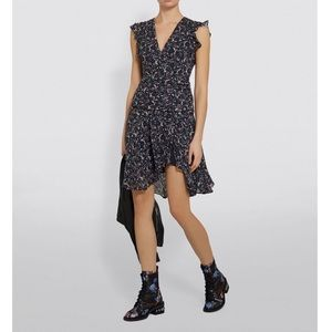 Printed Ruffle Dress by All Saints Spitalfields